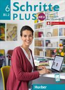 Cover-Bild zu Schritte plus Neu 6 B1.2. Schweiz. Kursbuch + Arbeitsbuch mit Audio-CD zum Arbeitsbuch