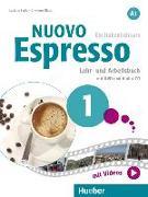Cover-Bild zu Ziglio, Luciana: Nuovo Espresso A1. Lehr- und Arbeitsbuch mit DVD und Audio-CD