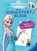 Cover-Bild zu The Walt Disney Company (Illustr.): Disney Die Eiskönigin Mein Schulstartblock: Zählen und Rechnen