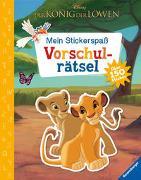 Cover-Bild zu The Walt Disney Company (Illustr.): Mein Stickerspaß Disney Der König der Löwen: Vorschulrätsel