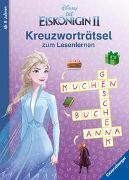 Cover-Bild zu The Walt Disney Company (Illustr.): Disney Die Eiskönigin 2: Kreuzworträtsel zum Lesenlernen