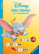 Cover-Bild zu Johannsen, Anne: Disney Classics: ABC-Rätsel zum Lesenlernen