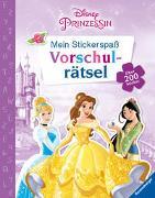 Cover-Bild zu The Walt Disney Company (Illustr.): Mein Stickerspaß Disney Prinzessin: Vorschulrätsel