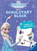 Cover-Bild zu The Walt Disney Company (Illustr.): Disney Die Eiskönigin Mein Schulstartblock: Lesen und Schreiben