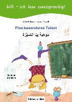 Cover-Bild zu Rylance, Ulrike: Pias besonderes Talent. Kinderbuch Deutsch-Arabisch mit Leserätsel