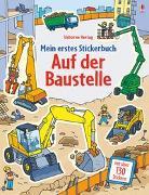 Cover-Bild zu Greenwell, Jessica: Mein erstes Stickerbuch: Auf der Baustelle