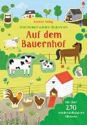 Cover-Bild zu Greenwell, Jessica: Mein Immer-wieder-Stickerbuch: Auf dem Bauernhof
