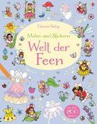 Cover-Bild zu Greenwell, Jessica: Malen und Stickern: Welt der Feen