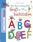 Cover-Bild zu Greenwell, Jessica: Mein Wisch-und-weg-Buch: Großbuchstaben