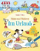 Cover-Bild zu Greenwell, Jessica: Malen und Stickern: Im Urlaub