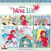 Cover-Bild zu Knister: Hexe Lilli - 3er Box 01 (Folgen 1, 2, 3)