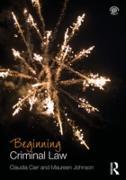 Cover-Bild zu Carr, Claudia: Beginning Criminal Law (eBook)