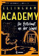 Cover-Bild zu Johnson, Maureen: Ellingham Academy - Die Botschaft an der Wand (eBook)