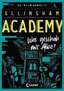 Cover-Bild zu Johnson, Maureen: Ellingham Academy - Was geschah mit Alice?