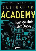 Cover-Bild zu Johnson, Maureen: Ellingham Academy 1 - Was geschah mit Alice? (eBook)