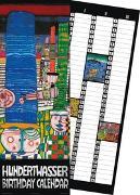 Cover-Bild zu Hundertwasser Birthday Calendar