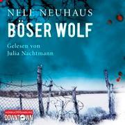 Cover-Bild zu Neuhaus, Nele: Böser Wolf (Ein Bodenstein-Kirchhoff-Krimi 6)