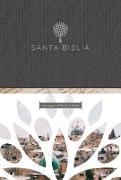 Cover-Bild zu Santa Biblia RVR 1960 - Letra grande, tapa dura negra con imágenes de Tierra Santa / Spanish Holy Bible RVR 1960 -Large Print, Hard Cover