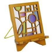 Cover-Bild zu Architecture Bookholder Orbit - Buchständer - Tablethalter aus Holz