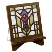 Cover-Bild zu Architecture Bookholder Petunia - Buchständer - Tablethalter aus Holz