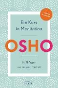Cover-Bild zu Osho: Ein Kurs in Meditation (eBook)