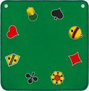 Cover-Bild zu Jassteppich F/D (grün)