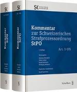 Cover-Bild zu Kommentar zur Schweizerischen Strafprozessordnung StPO