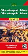 Cover-Bild zu China - Mongolei - Taiwan, Autokarte 1:3.000.000. 1:3'000'000