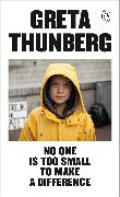 Cover-Bild zu No One Is Too Small to Make a Difference
