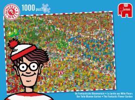 Cover-Bild zu Puzzle Suche Wally 2 - Der tolle Blumengarten