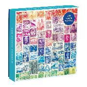 Cover-Bild zu Phat Dog Vintage Stamps 500 Piece Puzzle