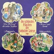 Cover-Bild zu Die schönsten Märchen der Gebrüder Grimm, Folge 1 (Audio Download) von Grimm, Gebrüder