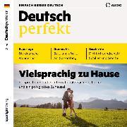 Cover-Bild zu eBook Deutsch lernen Audio - Vielsprachig zu Hause