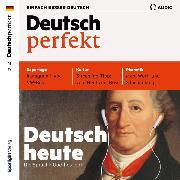 Cover-Bild zu eBook Deutsch lernen Audio - Deutsch heute