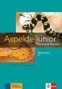Cover-Bild zu Aspekte junior C1. Medienpaket (4 Audio-CDs + Video-DVD) von Koithan, Ute