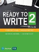 Cover-Bild zu NEW EDITION: Ready to Write 2 with Essential Online Resources von Blanchard, Karen