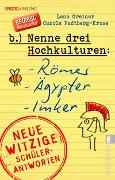 Cover-Bild zu Nenne drei Hochkulturen: Römer, Ägypter, Imker von Greiner, Lena