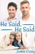 Cover-Bild zu He Said, He Said (eBook) von Craig, Jamie