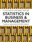 Cover-Bild zu Davis, Glyn: Statistics in Business & Management (eBook)