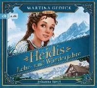 Cover-Bild zu Spyri, Johanna: Heidis Lehr- und Wanderjahre