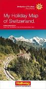 Cover-Bild zu Schweiz Meine Ferienkarte Strassenkarte 1:303 000. 1:303'000