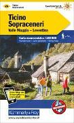 Cover-Bild zu Tessin Sopraceneri, Valle Maggia, Leventina Wanderkarte Nr. 26. 1:60'000