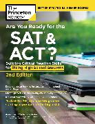 Cover-Bild zu Are You Ready for the SAT and ACT?, 2nd Edition (eBook) von The Princeton Review