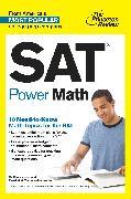 Cover-Bild zu SAT Power Math (eBook) von The Princeton Review