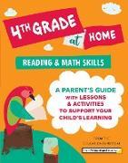 Cover-Bild zu 4th Grade at Home (eBook) von The Princeton Review