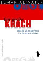 Cover-Bild zu Altvater, Elmar: Der große Krach