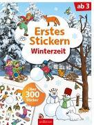 Cover-Bild zu Erstes Stickern Winterzeit