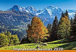 Cover-Bild zu Cal. Impressions Suisses Ft. 48x33 2020