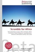 Cover-Bild zu Scramble for Africa von Surhone, Lambert M. (Hrsg.)