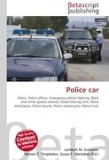 Cover-Bild zu Police car von Surhone, Lambert M. (Hrsg.)